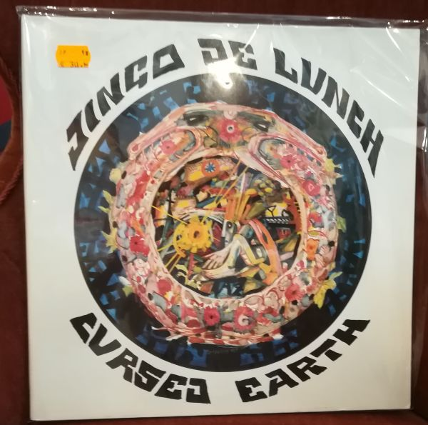 Cover JINGO DE LUNCH, cursed earth (USED)
