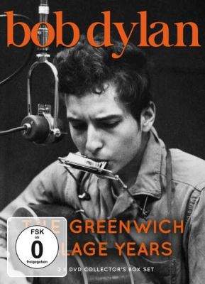 MOVIE, bob dylan - the greenwich village years cover