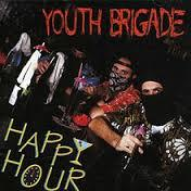Cover YOUTH BRIGADE, happy hour
