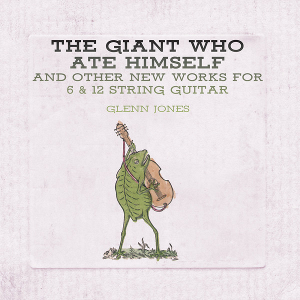GLENN JONES, the giant who ate himself cover