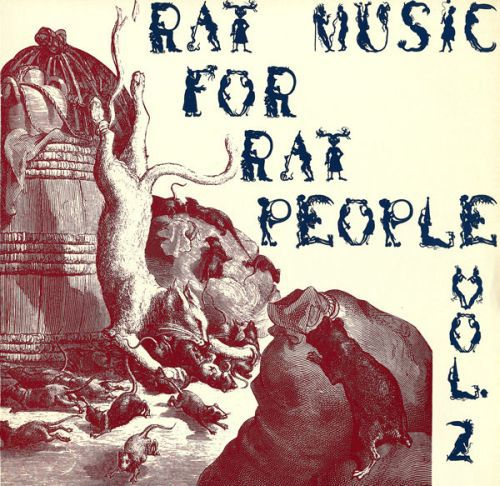 Cover V/A, rat music for rat people vol 2 (USED)