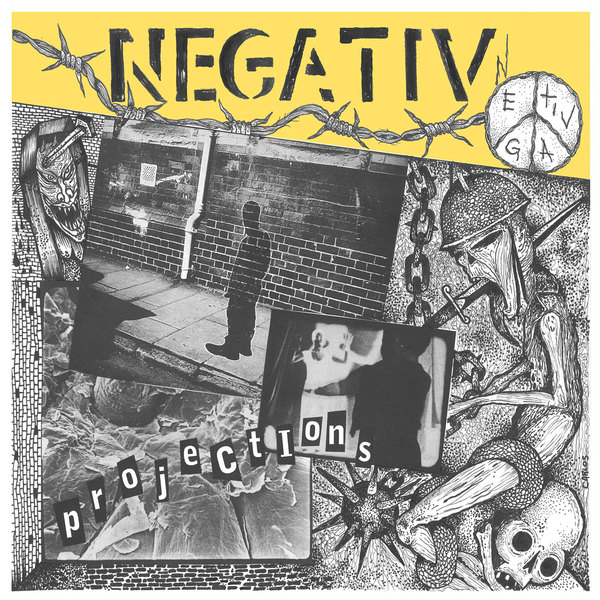 NEGATIV, projections cover