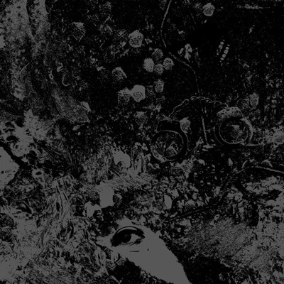 PRIMITIVE MAN / UNEARTHLY TRANCE, split cover