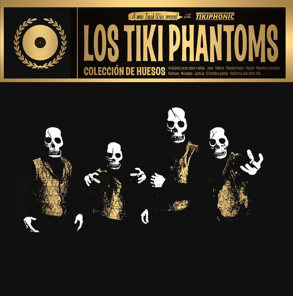 Cover LOS TIKI PHANTOMS, coleccion de huesos - the best of