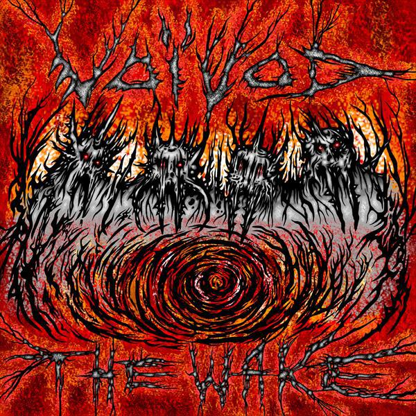 VOIVOD, the wake cover