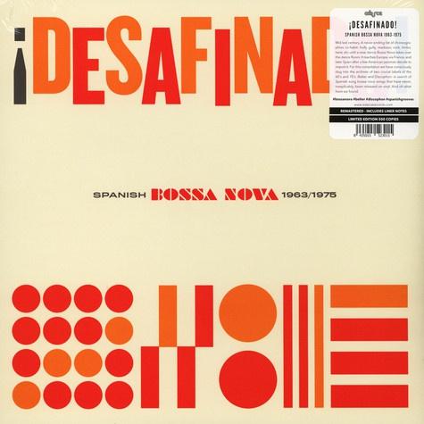 V/A, desafinado - spanish bossa nova 1963-1975 cover