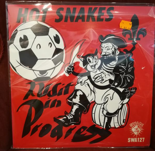 Cover HOT SNAKES, audit in progress (USED)
