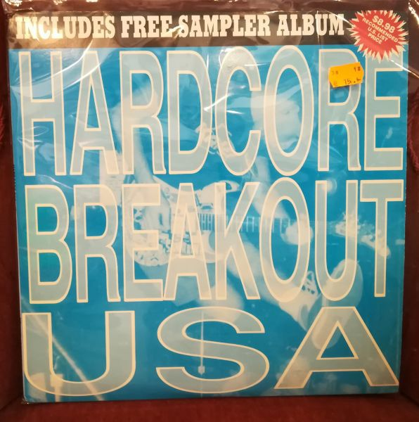Cover V/A, hardcore breakout usa (USED)