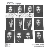 Cover ROTTEN MIND, still searching / streberbarn