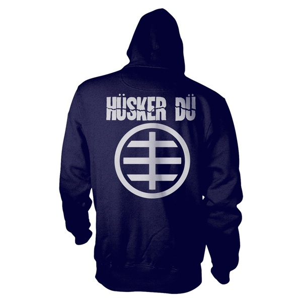 Cover HÜSKER DÜ, circle logo 1 (boy) zipper blue