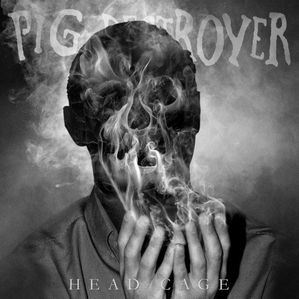 PIG DESTROYER, head cage cover