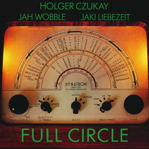 HOLGER CZUKAY/JAH WOBBLE/JAKI LIEBEZEIT, full circle cover