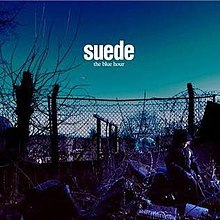 SUEDE, the blue hour cover