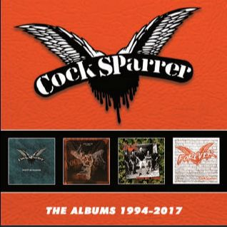COCK SPARRER, the albums 1994 - 2017 cover