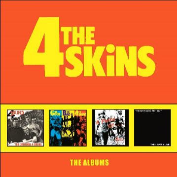 4 SKINS, the albums cover