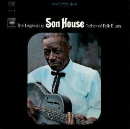 SON HOUSE, father of folk blues cover