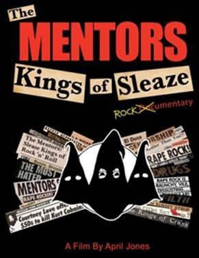 MENTORS, kings of sleaze cover