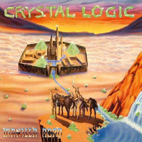 MANILLA ROAD, crystal logic cover