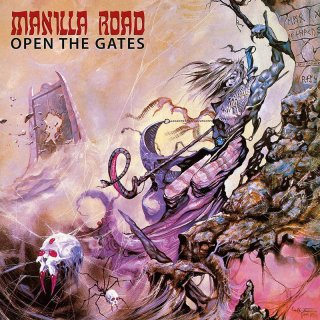 MANILLA ROAD, open the gates cover