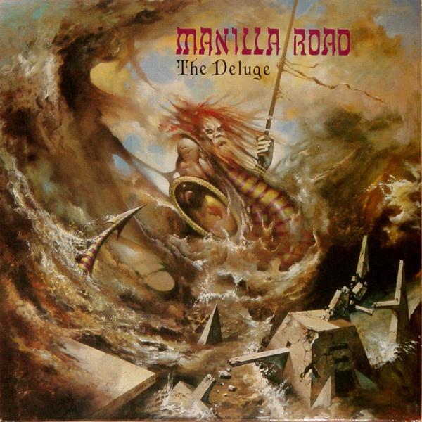 MANILLA ROAD, the deluge cover