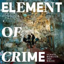 Cover ELEMENT OF CRIME, schafe, monster & mäuse