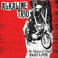 ALKALINE TRIO, my shame is true past live (red vinyl) cover