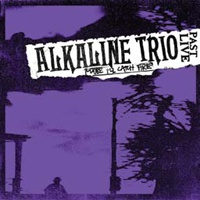 ALKALINE TRIO, maybe i´ll catch a fire past live (purple vinyl) cover