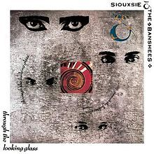 Cover SIOUXSIE AND THE BANSHEES, through the looking glass