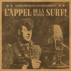 V/A, l´appel de la musique surf cover