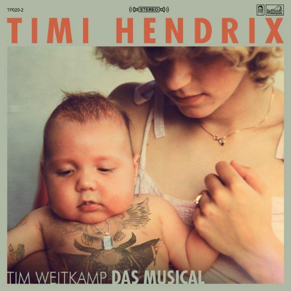 TIMI HENDRIX, tim weitkamp das musical cover