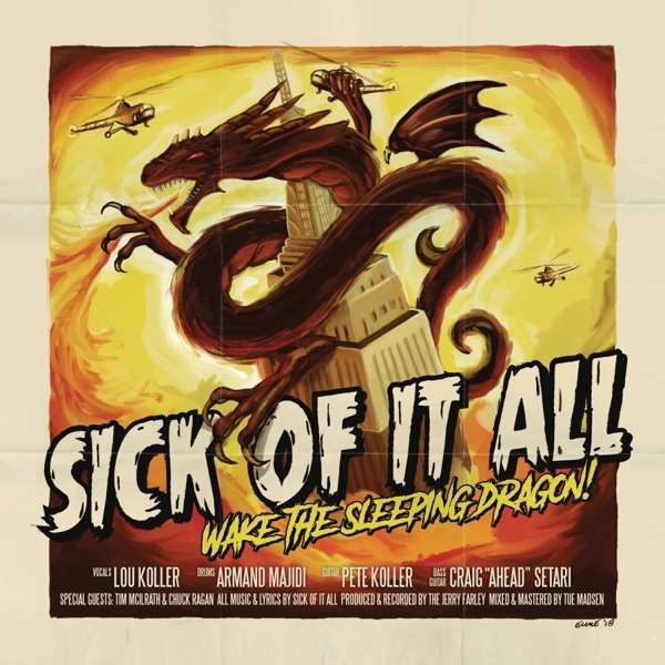 SICK OF IT ALL, wake the sleeping dragon! cover