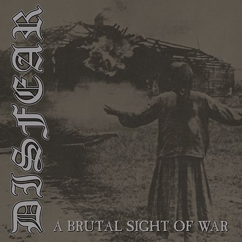 Cover DISFEAR, a brutal sight of war