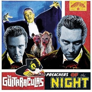 GUITARACULAS, preachers of the night cover