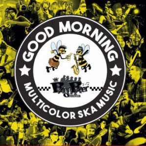 Cover BEER BEER ORCHESTRA, good morning multicolor ska music