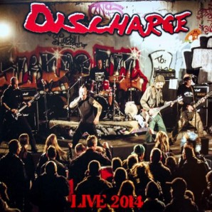 DISCHARGE, live 2014 cover