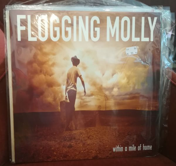 FLOGGING MOLLY, within a mile of home (USED) cover