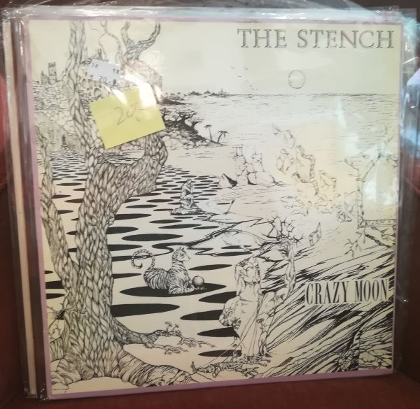 Cover STENCH, crazy moon (USED)
