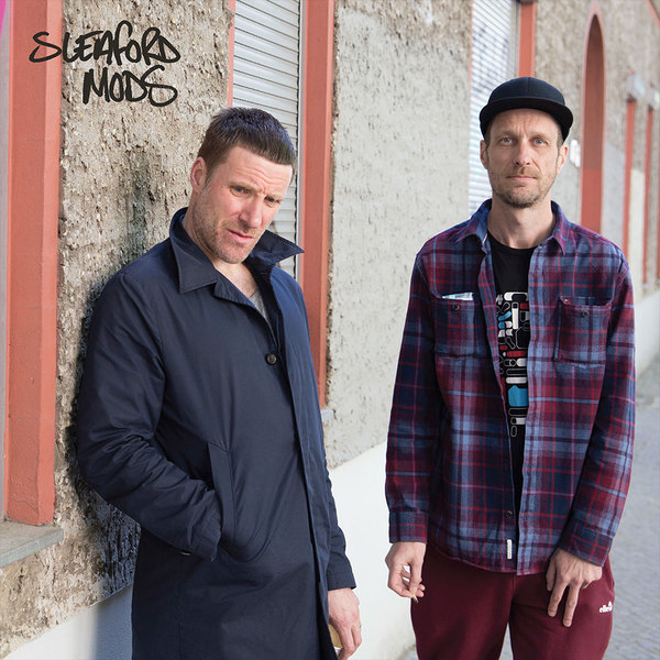 Cover SLEAFORD MODS, s/t ep