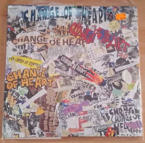 CHANGE OF HEART, there you go `82-`97 (USED) cover