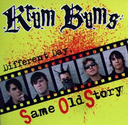 KRUM BUMS, same old story cover