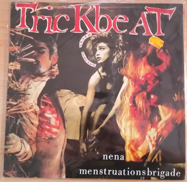 Cover TRICKBEAT, nena menstruationsbrigade  (USED)