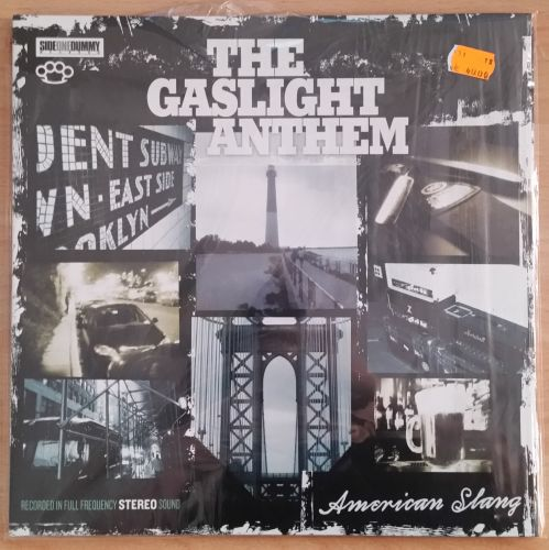 Cover GASLIGHT ANTHEM, american slang (USED)