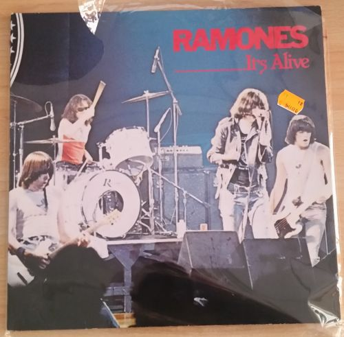 Cover RAMONES, it´s alive (USED)