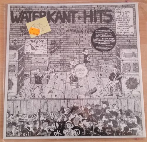 Cover V/A, waterkant hits (USED)