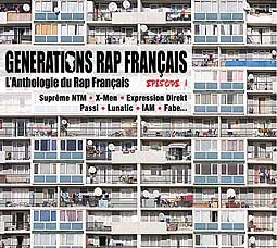 V/A, generations rap francaise cover