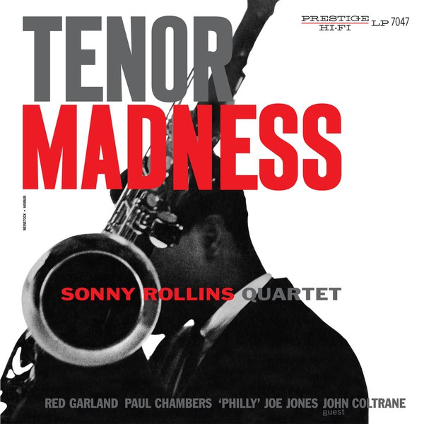 SONNY ROLLINS, tenor madness cover