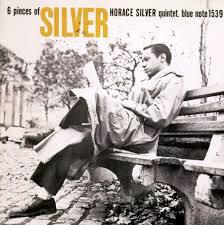 HORACE SILVER, 6 pieces of silver cover