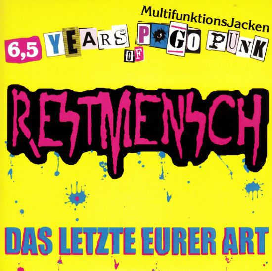 Cover RESTMENSCH / RAZORS, split