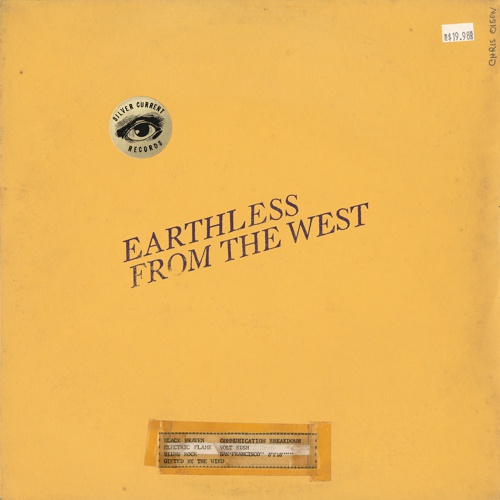 EARTHLESS, from the west cover
