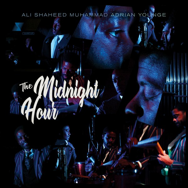 Cover ADRIAN YOUNGE & ALI SHAHEED MUHAMMAD, the midnight hour